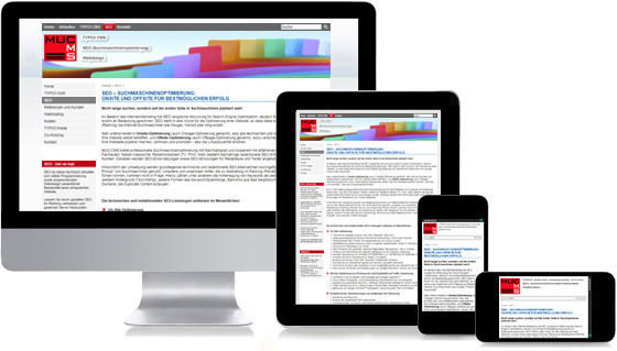 Responsive Webdesign für TYPO3-Websites: Desktop, Tablet, Smartphone, Mobile